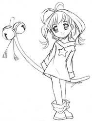 Sparkle - sketch by J8d