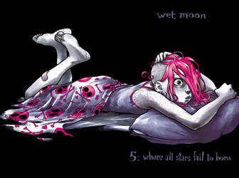 WET MOON 5 by mooncalfe