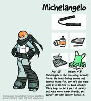 Secrets Of The Ooze: Michelangelo by mooncalfe