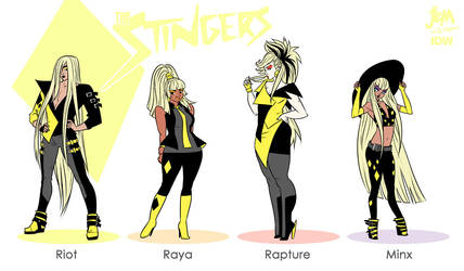 The Stingers by mooncalfe
