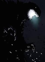 Halloween 2016: Godzilla by mooncalfe