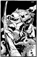 TMNT: Donatello by mooncalfe