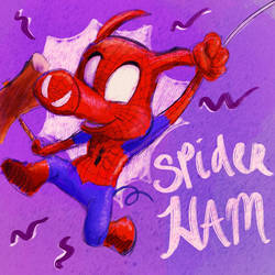 Spider Ham with Mallet by Wooga