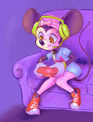 Gamer Minnie by Wooga