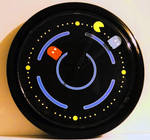 pac-man wall clock by yakumoSoul