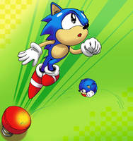 Sonic spring by yakumoSoul