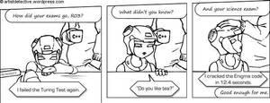 I failed the Turing Test by yakumoSoul