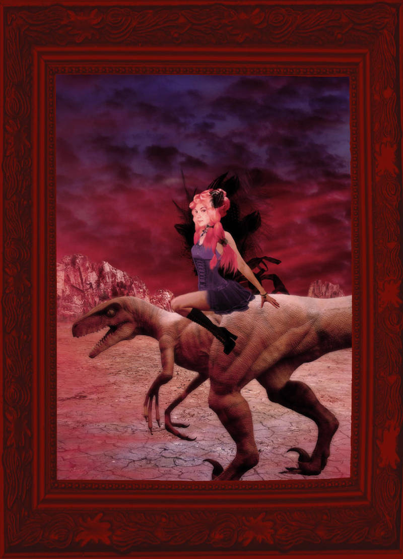 Rachel is my Dino Queen by MsPoecilonym