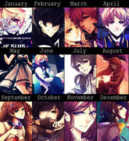 Summary of Art - 2015 by Mizury