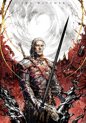 Novel cover The witcher vol.5 by Xiling