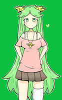 Palutena casual clothes by MauLegend98