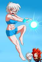 Yuuko special training by WembleyAraujo