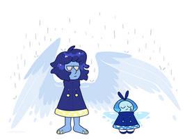 rain? in june? by CosmicDiamond