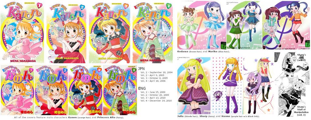 Fairy Idol Kanon - References (2018 ed.) by Fario-P