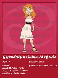 Gwendolyn Quinn McBride Bio by Twilightprincess06