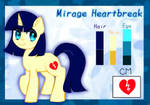 Mirage Heartbreak OC by whiskyice