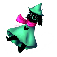 Ralsei (Deltarune) by Mireby