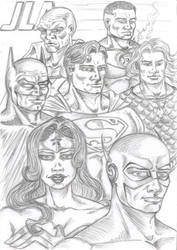 JUSTICE LEAGUE by studioquimera