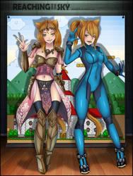 RFTS Commission Mia n' Mai cosplay by KianJimenez