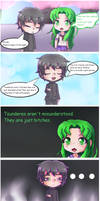 Midori says facts about Tsunderes by PolishCrossoverFan
