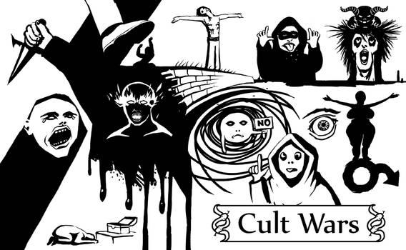 Cult Wars promo by hectigo