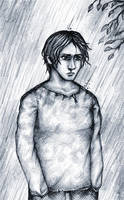 Soaking my Harbl in the Rain by hectigo
