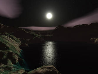 Midnight Moon by cmptrwhz