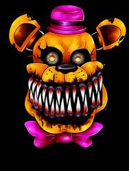 Nightmare Fredbear by Acidiic