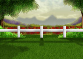 Free Meadow Background by SweetLittleVampire