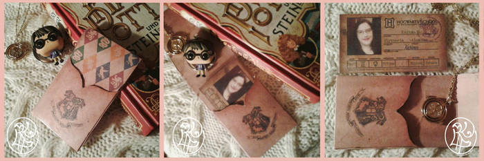 [DIY] Hogwarts Student ID by SweetLittleVampire