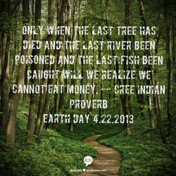 Earth Day Quote by jkund