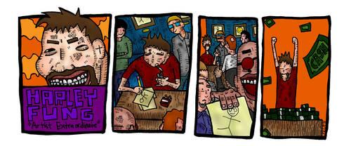 Harley Fung 1st strip by ProfessorBanzai