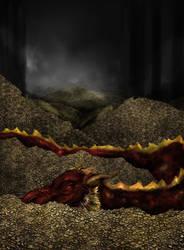 The Hobbit - Smaug by raychuhll