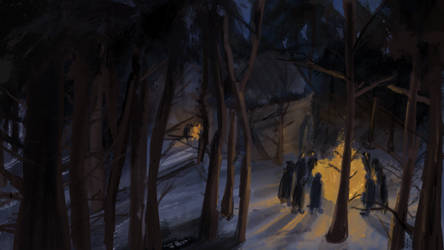 Woods by raychuhll