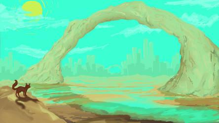 landscape 2 by raychuhll