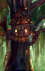 Treehouse by raychuhll