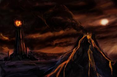 Mordor by raychuhll