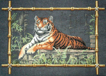 Temple Tiger by StychoKiller