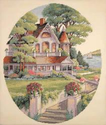 Beautiful Victorian House by StychoKiller