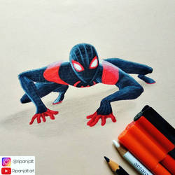 Spiderman into the spider verse by ripanjatt