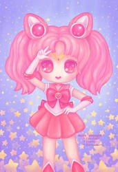 Sailor Chibi Moon by miss-octopie