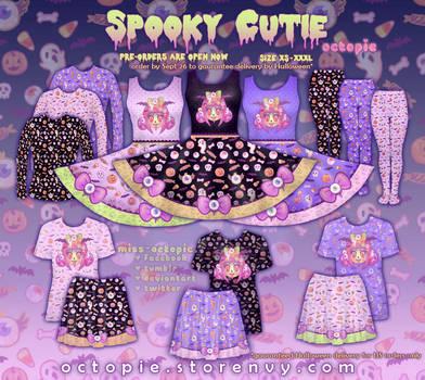 Spooky Cutie Clothing Series by miss-octopie