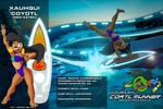 NEONAHUALT COATL RUNNER  XAUHQUI ID by HTECORE