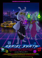 Asriel Synth Undertale AU Comic Cover by HTECORE