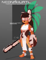 Neonahuatl Cuauhtli Suit Mark 4 Redesigned by HTECORE