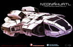 Neonahuatl Hunab kub spacecraft upgrade v2 by HTECORE