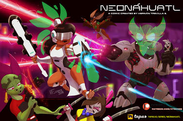 Neonahuatl Xauhqui  Fight 01 by HTECORE