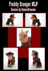 Freddy Krueger MLP Custom by Demondreamer