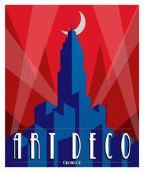 Art Deco Poster by Ollywood