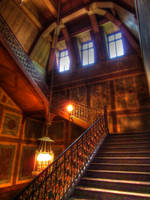 Wooden Stairs by BluePalmTree